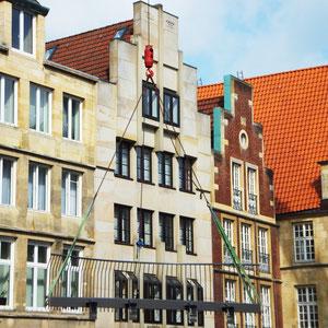 Prinzipalmarkt Münster - Balkonkonstruktion