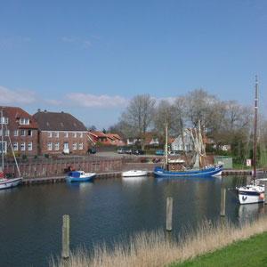 Foto des Monats: April 2012 - Alter Hafen Hooksiel