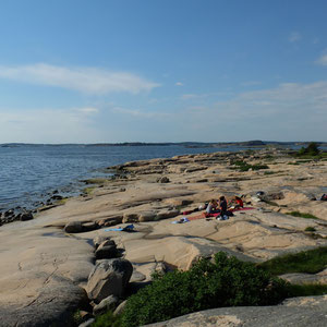 Am nächsten Tag - 1.Juni - Besuch Am Meer