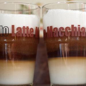 Latte Macchiato, Kaffeegenuss, Kaffeepause
