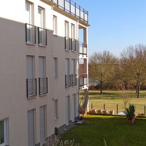 Vermietet. 4 ZM, 109 qm, EBK, Pkw-Stellplatz, überdachter Balkon, uvm...
