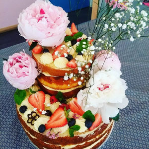 Nude cake Tonka Croix Rousse
