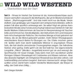 Wild Wild Westend im Spy Magazin