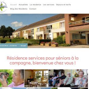 Résidence Jasmin, résidence services pour Séniors dans l'Yonne