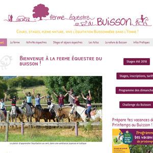 Ferme équestre du Buisson, centre équestre et stages d'équitation à Auxerre