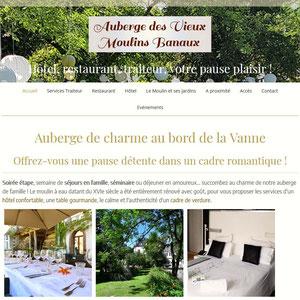Auberge des Moulins Banaux, hôtel restaurant et traiteur