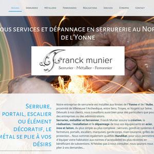Franck Munier Serrurier, métallier, ferronnier