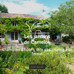 Les Jardins de Camelot, gite de charme dans le Bordelais