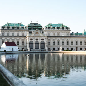 Fat House vor dem Oberen Belvedere