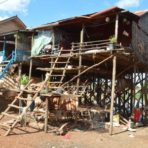 unterwegs zum Tonle Sap See