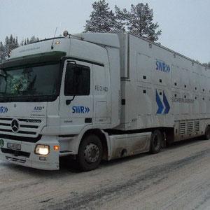 unterwegs Richtung Kuusamo