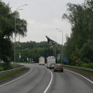 auf der Fahrt nach Kiev
