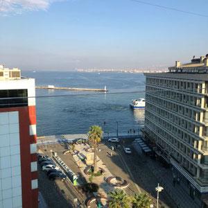 Izmir - Blick vom Hotel