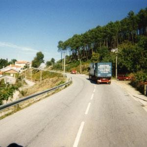unterwegs auf Portugals Strassen