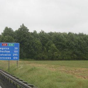unterwegs durch Polen