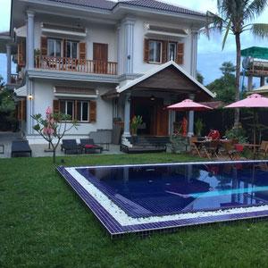 Villa b - unser Hotel in Siem Reap