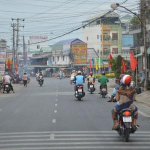 und der Mopedverkehr wird heftiger