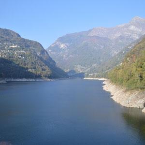 """der Stausee """"Lago di Vogorno"""""""