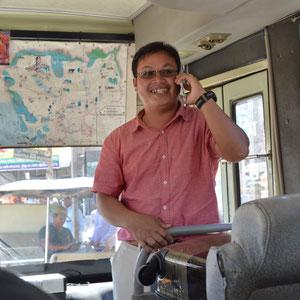 unser Kambodschanischer Tourguide Yan