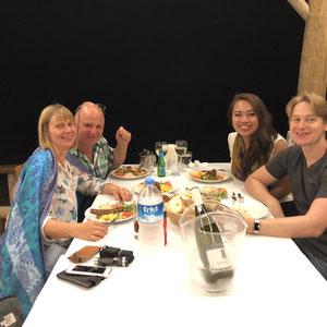 unser erstes Abendessen in Mesudiye - Poyraz Restaurant