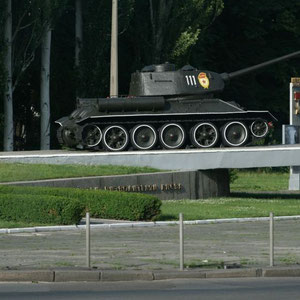 ein Denkmal des Zweiten Weltkrieges