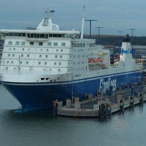 unser Schiff von Travemünde nach Helsinki (November 2011)