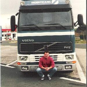 die erste Tour mit meinem neuen Volvo FH12 Globetrotter