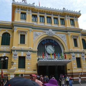 ein altes Postamt aus der Kolonialzeit