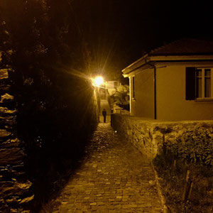 Heimweg bei Nacht