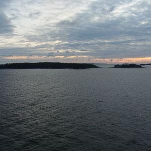 die ersten Finnischen Inselchen