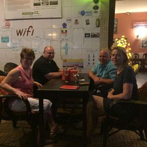 Abendessen in Chambon Cham