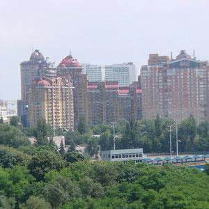 Blick über Kiev