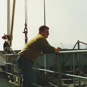 auf dem Schiff..........