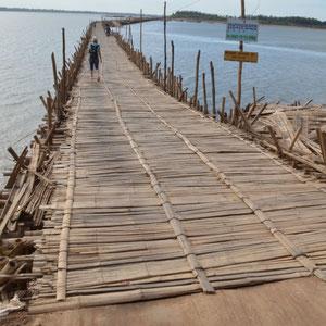 Ko Paen Bamboo Brücke