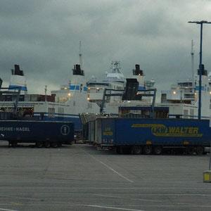 im Hafen Vuosaari - Helsinki