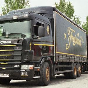 mein zweiter Scania bei Granini