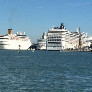 sie alle Lagen in Venedig