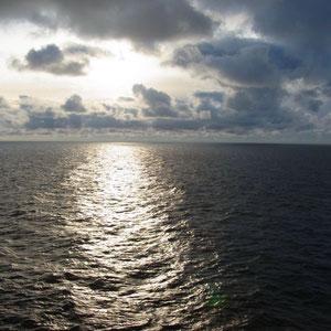 morgens auf dem Meer