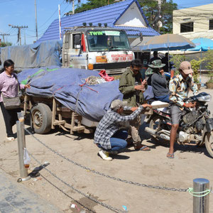 Eindrücke von der Thailändisch - Kambodschanischen Grenze