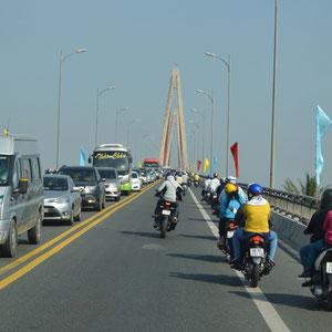 auf dem Weg nach Saigon