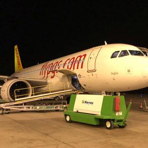 Ankunft in Kayseri mit Pegasus