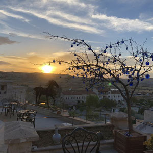 unser letzter Morgen in Cappadokien