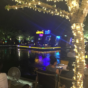 im Waterside Restaurant