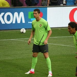 Ronaldo beim Abschlusstraining