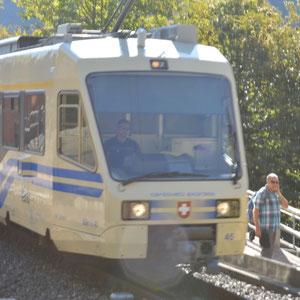 mit der Centovalli Bahn von Intragna bis Verdasio