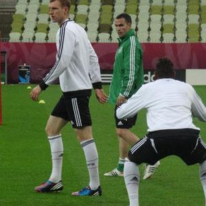 Abschlusstraining vor dem Spiel gegen Griechenland