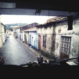 Anfahrt in Braga zu Rieker Schuhfabrik