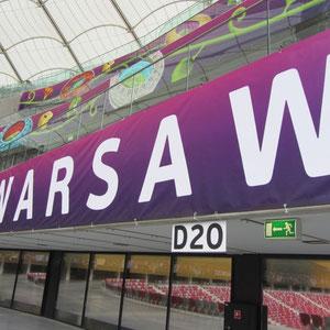 Warschau - im Stadion