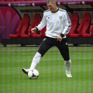 Abschlusstraining vor dem Spiel gegen Italien