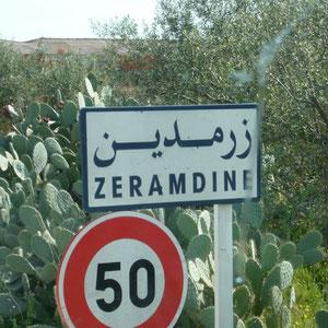 auf dem Weg Richtung Sfax - Zeramdine